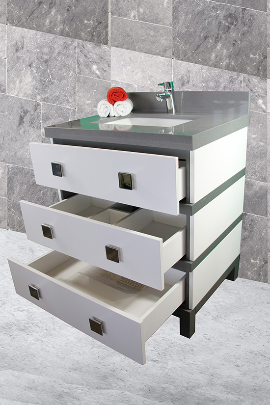 CBTI 2020 Grey with White Drawers