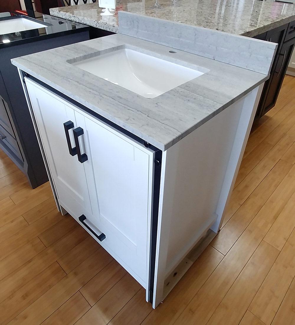 CBTI-2021 White Vanity Calcutta Quartz